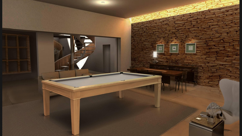 Бильярдный стол «Canossa Style» 3