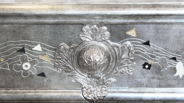 Klimt Silver Leaf billiard Pool Table 5