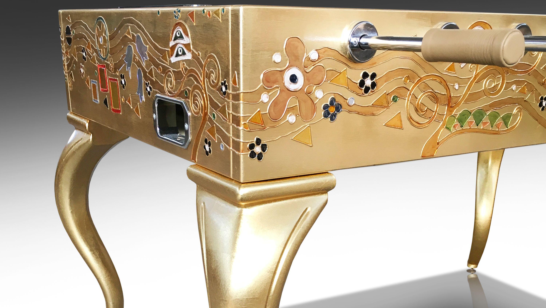 Настольный футбол «Opera Klimt Золотой лист» 4