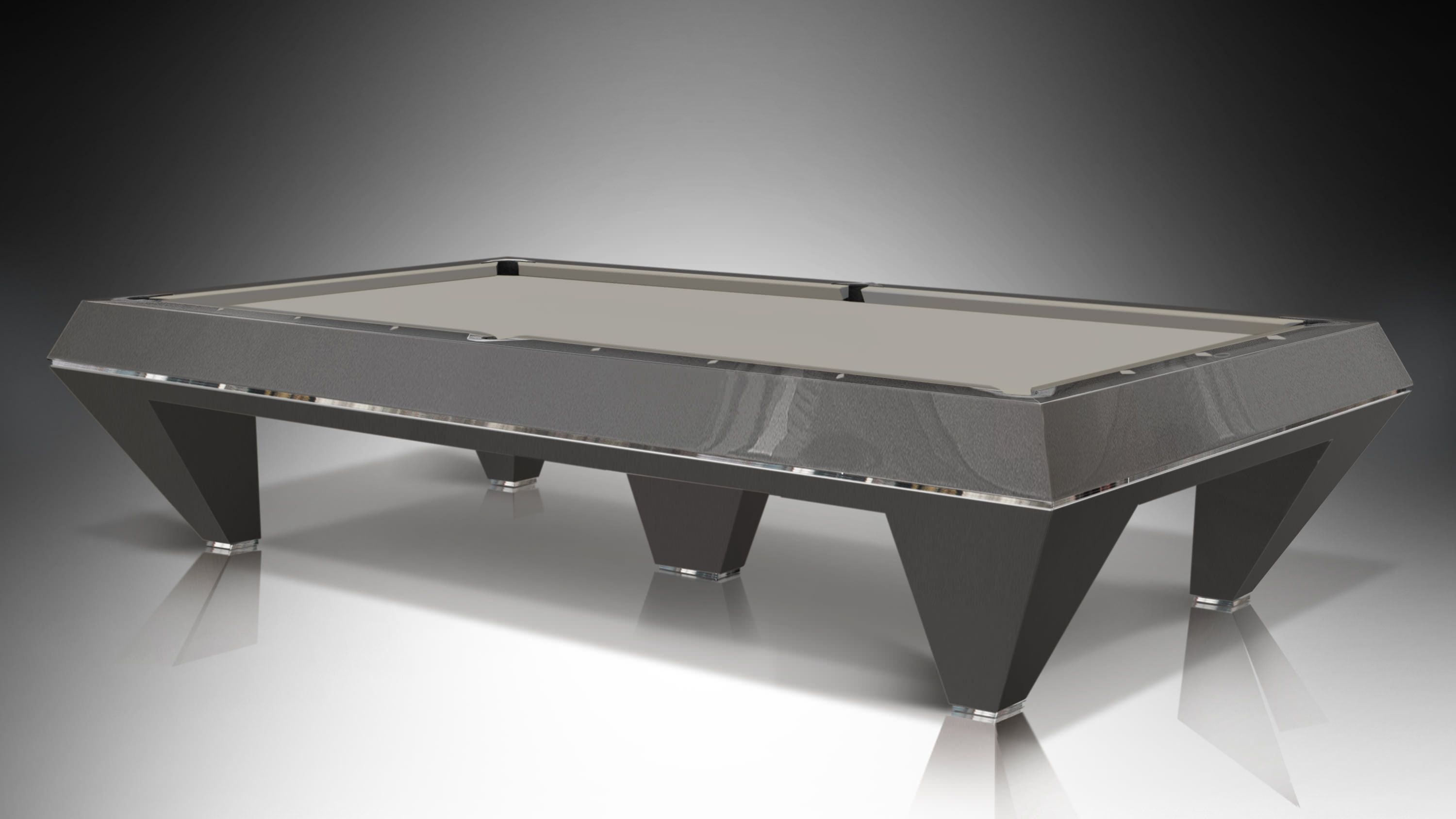 F1 Pearled and lacquered billiard Pool Table 5 bases 4