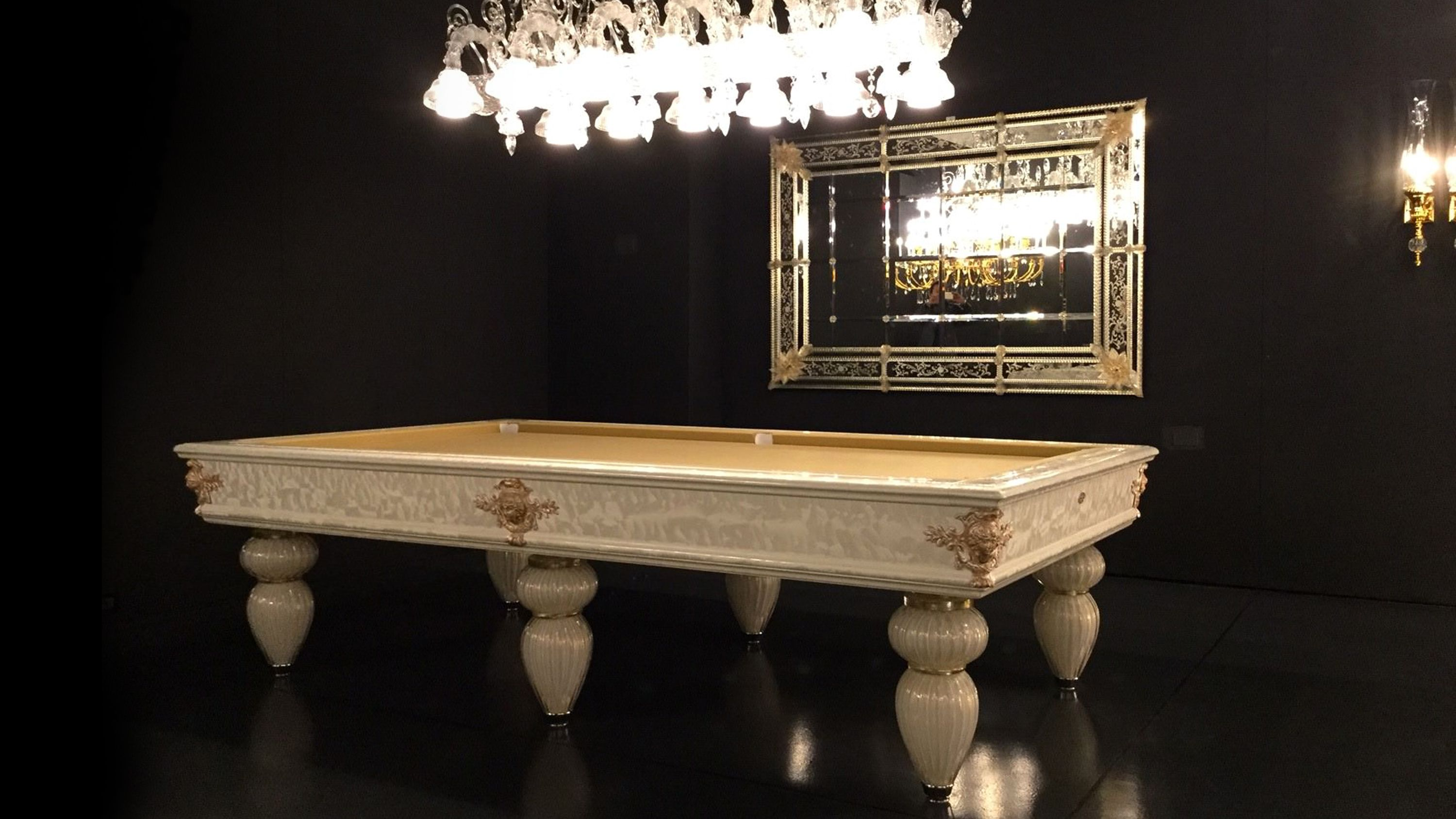 Murano Venice Italian Billiard Pool Table 14