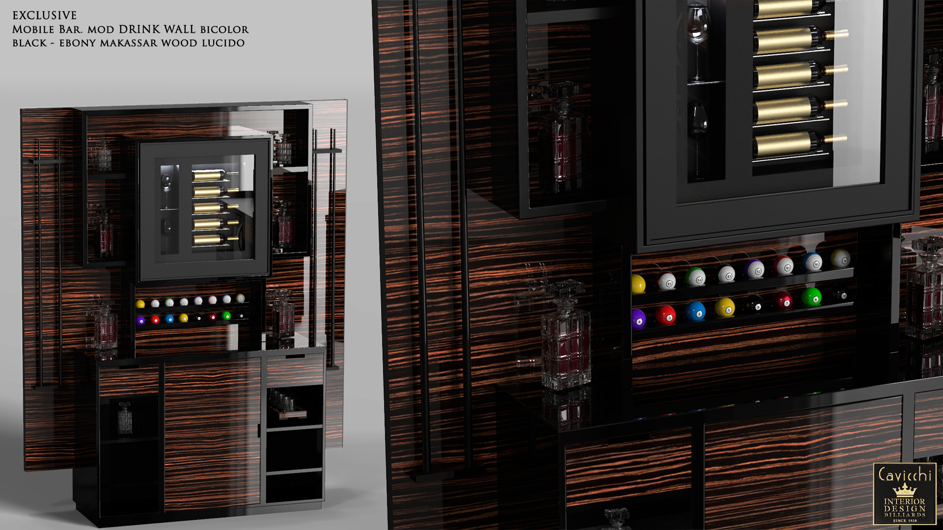 EXCLUSIVE MOBILE BAR DRINK WALL 2