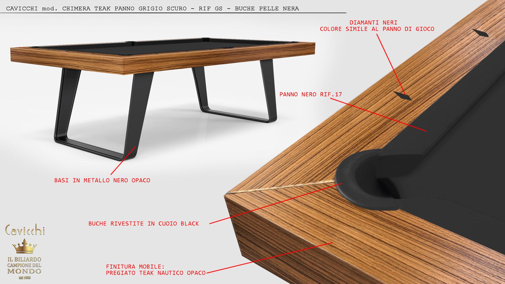 Biliardo tavolo Chimera - Showroom Shop 3