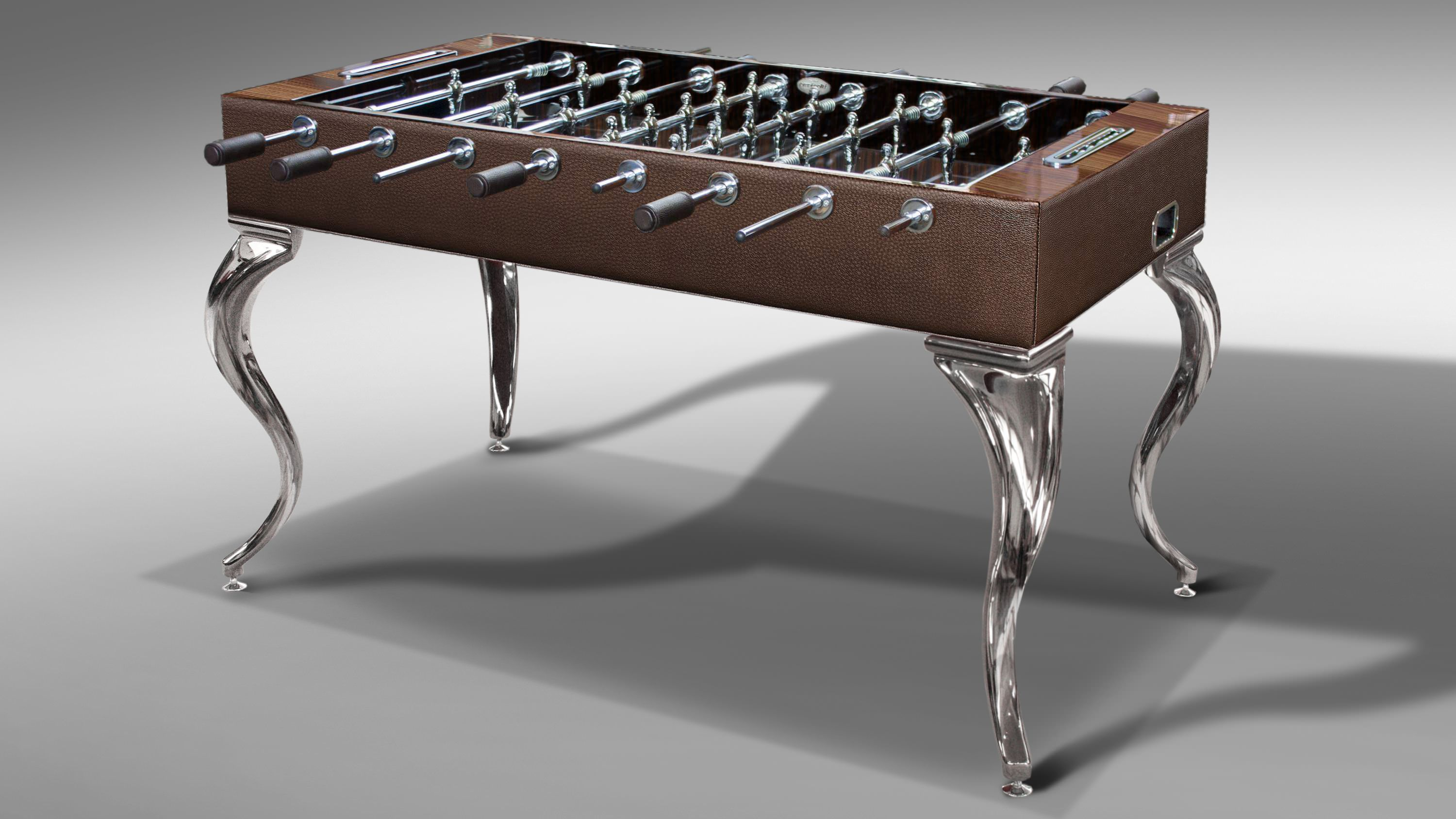 Opera Leather Soccer Table Opera Soccer Tables