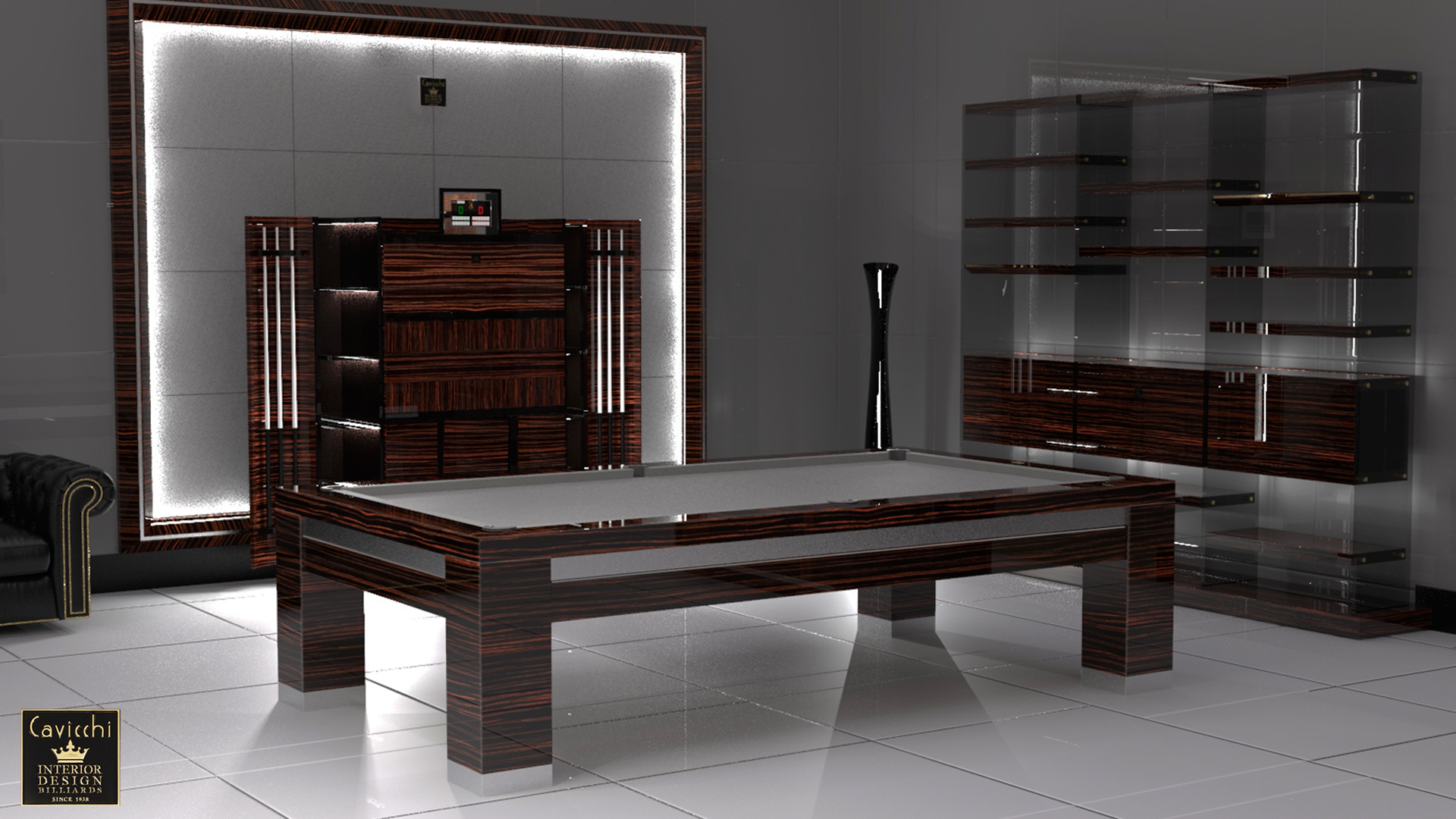 Cayman Billiard Pool Table - Showroom Shop 3