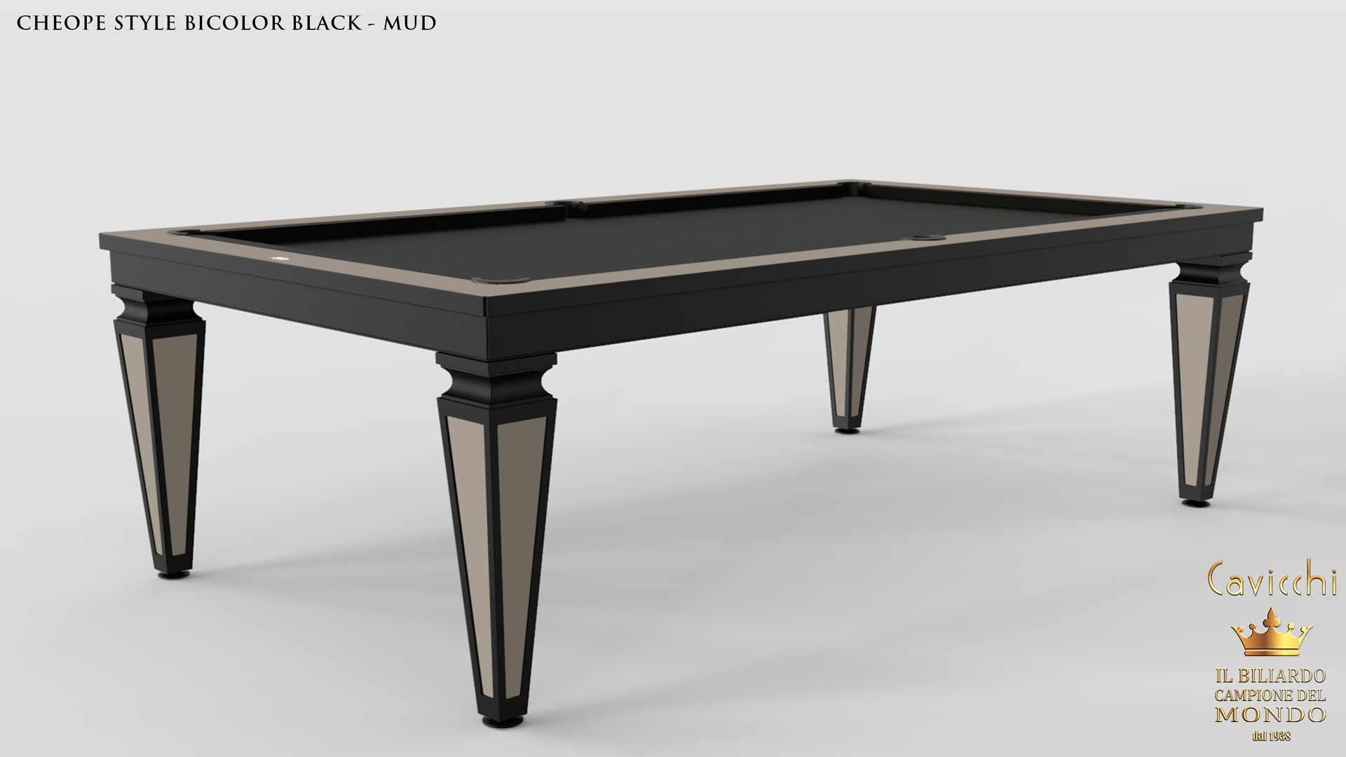 billiard table Cavicchi Cheope Style Black  - Showroom Shop 6