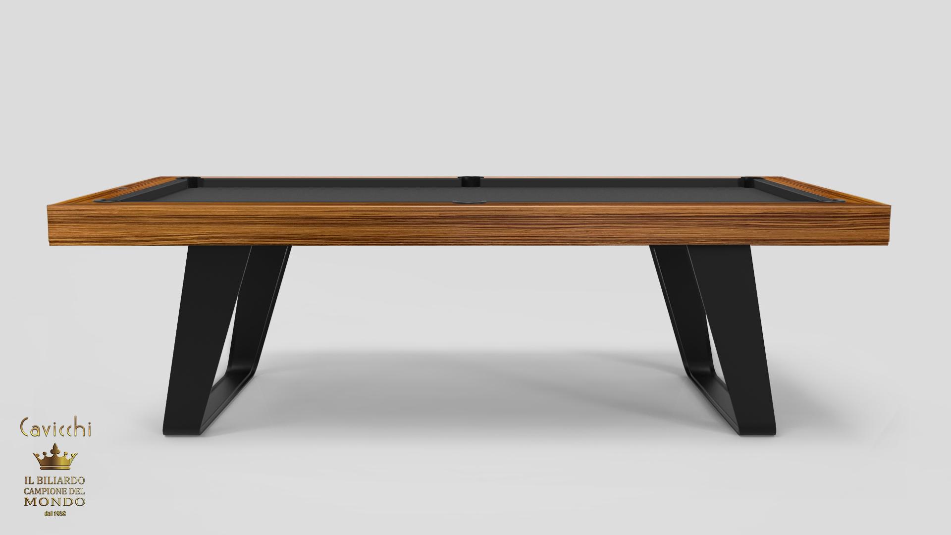 Chimera Pool Table Teak / Walnut / Lacquered 4