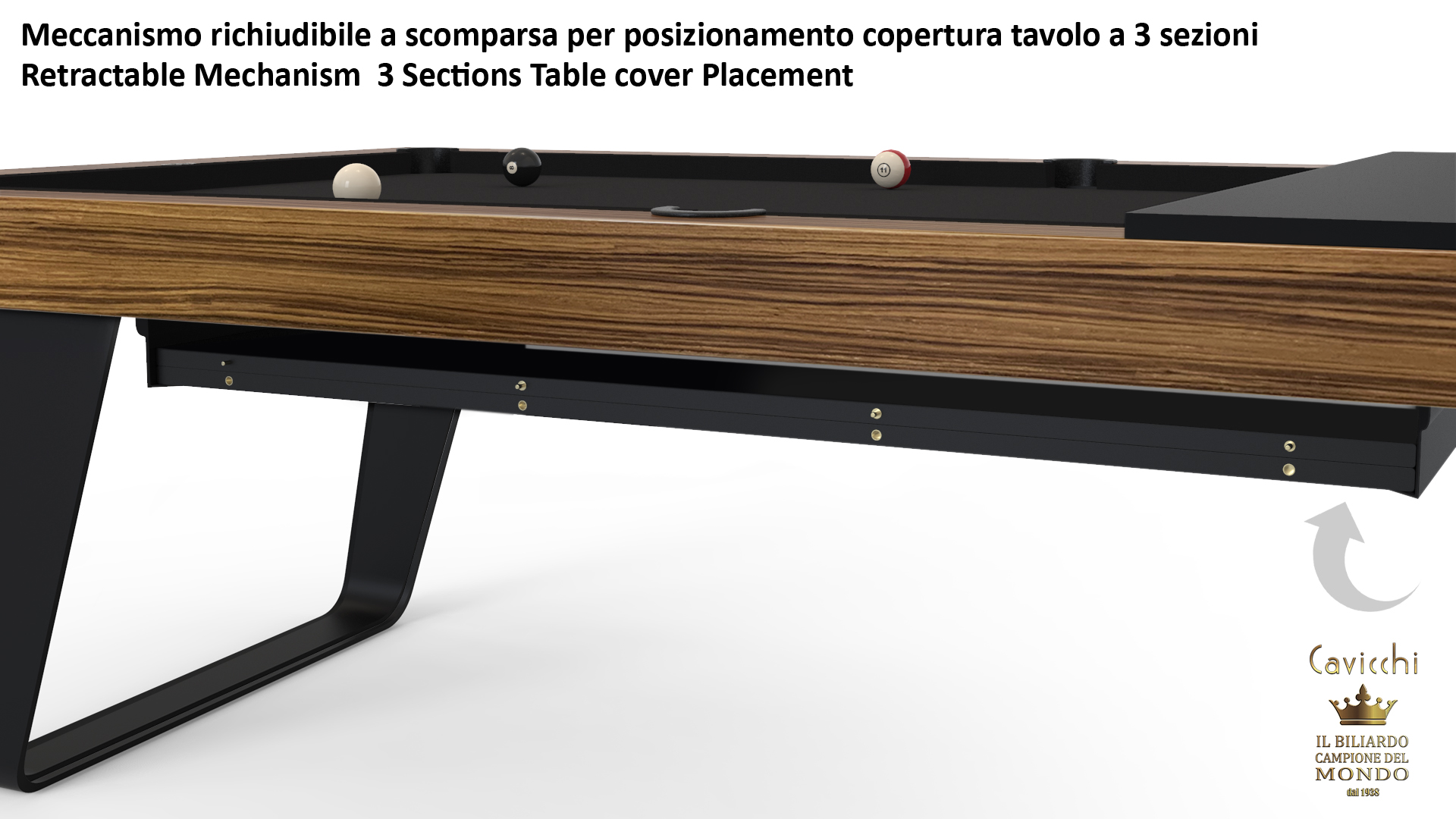 Chimera billiard table - Showroom shop 10