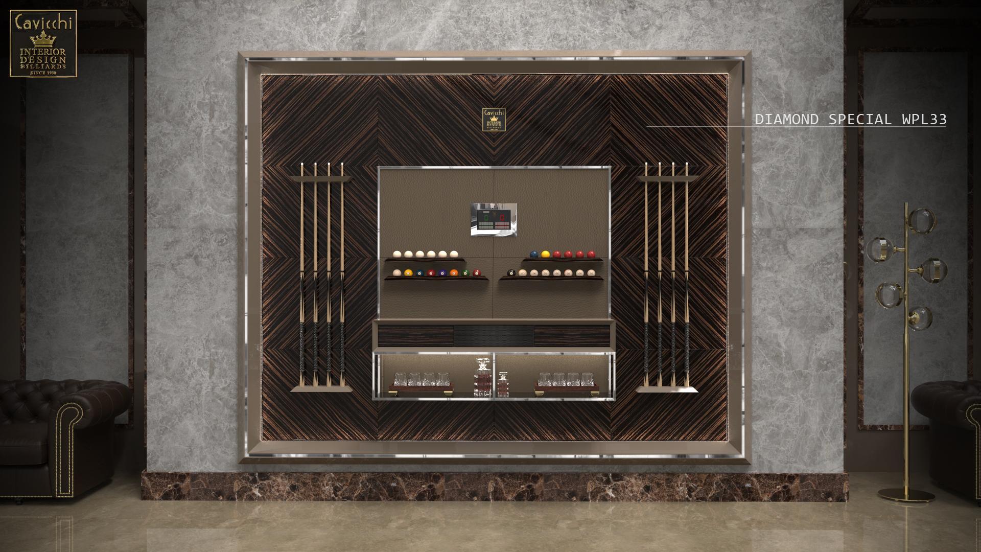 Мебель,отделанная деревянными панелями,Diamond Special WPL33 1