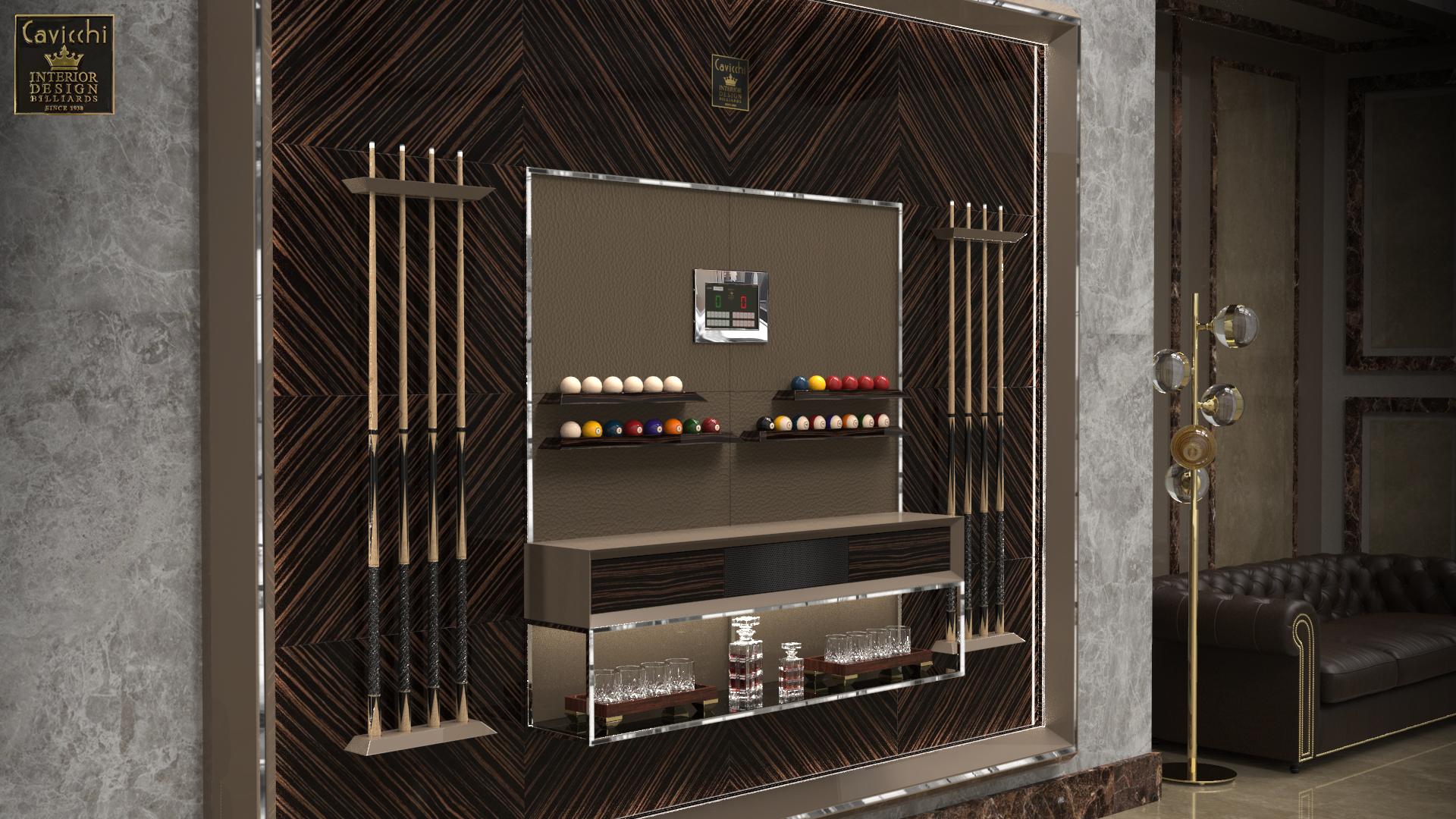 Мебель,отделанная деревянными панелями,Diamond Special WPL33 2