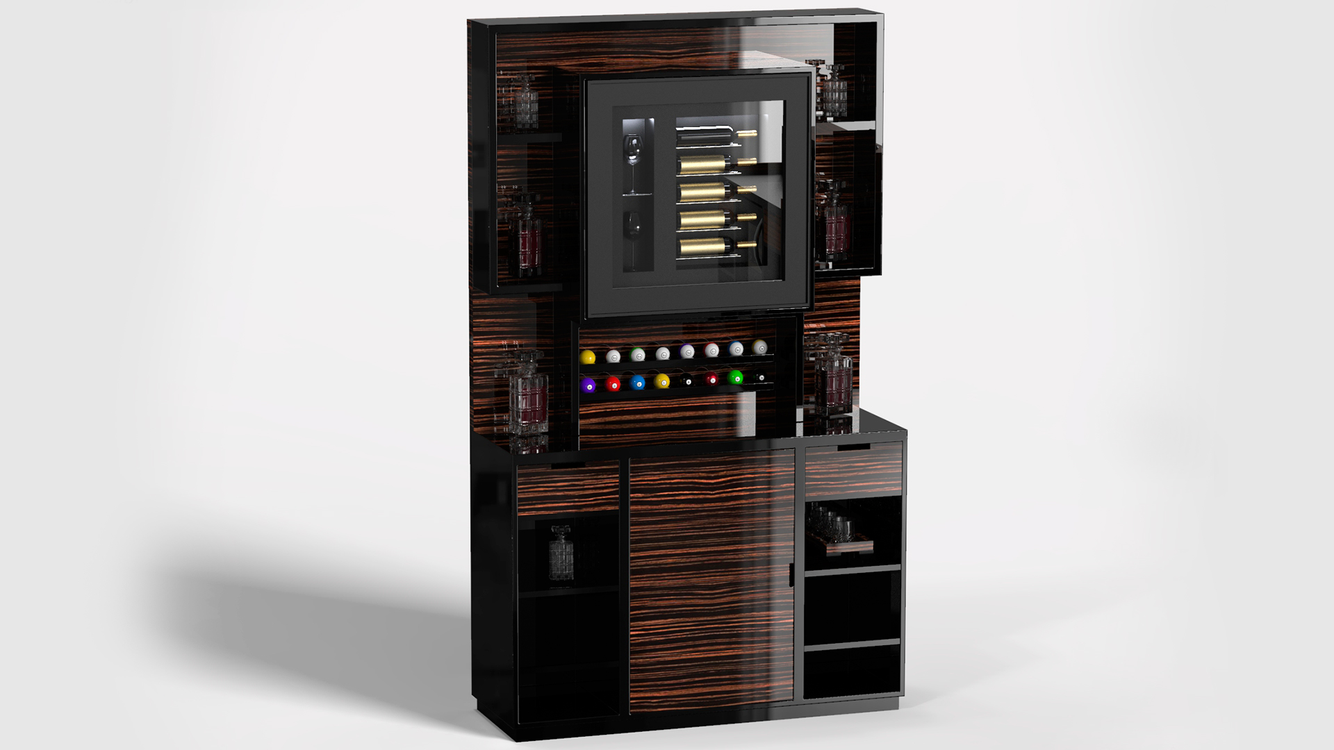 EXCLUSIVE MOBILE BAR DRINK WALL 1