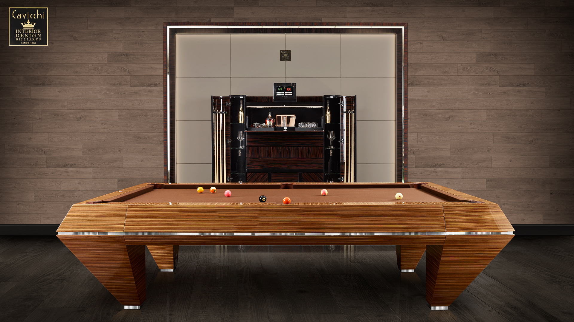 Billiard Millennium Zebrano - Showroom Shop 1