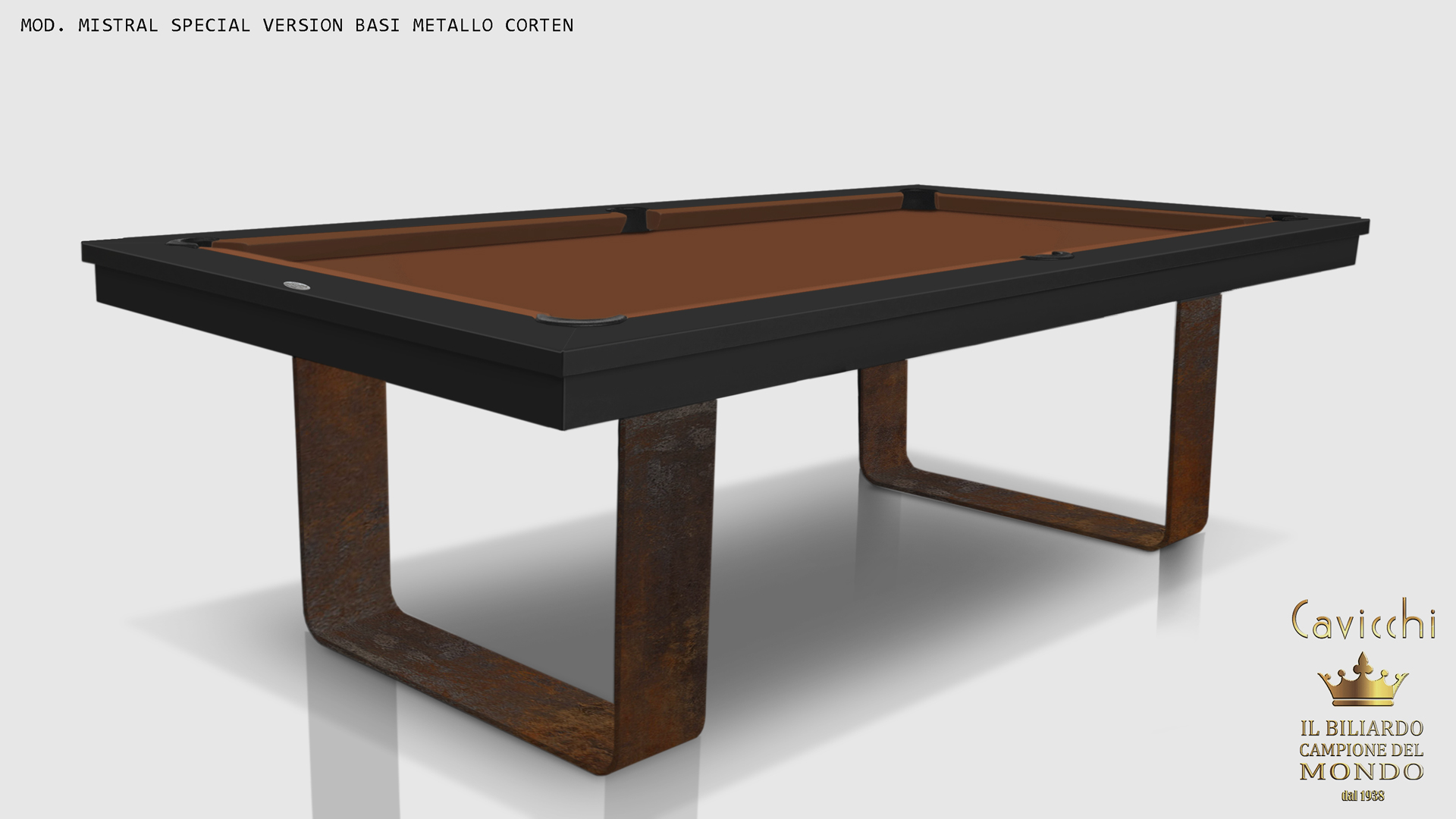 Cavicchi Mistral Deluxe pool table 7