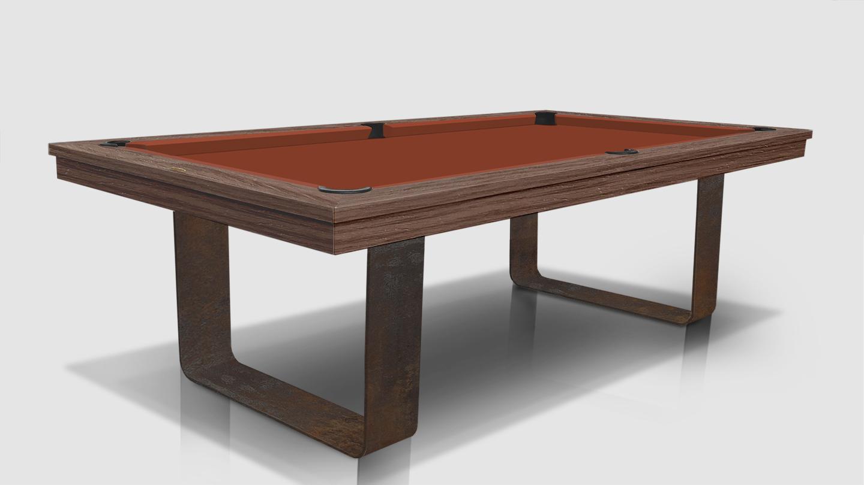 Cavicchi Mistral Corten Pool Table 2
