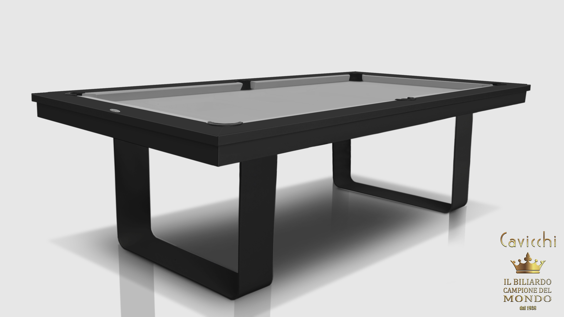 Cavicchi Mistral Black Pool Table 4