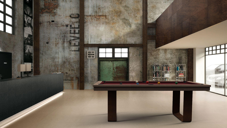 Cavicchi Mistral Corten Pool Table 1