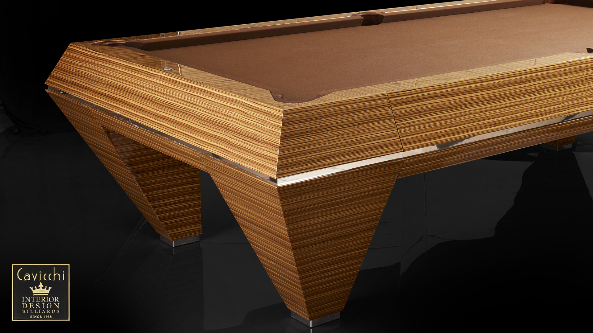 Billiard Millennium Zebrano - Showroom Shop 2