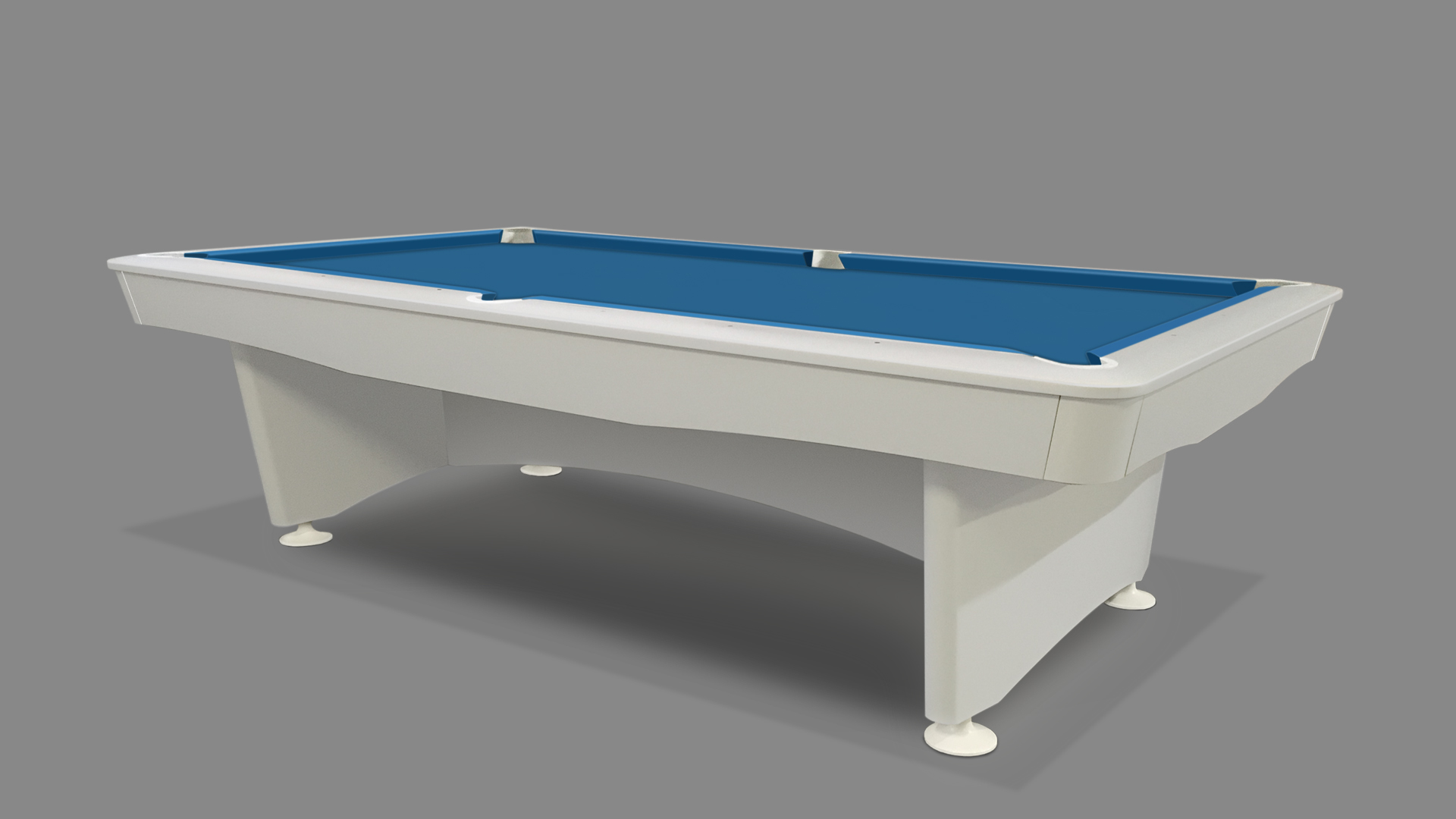 NEW Olympic Pool Table White 4