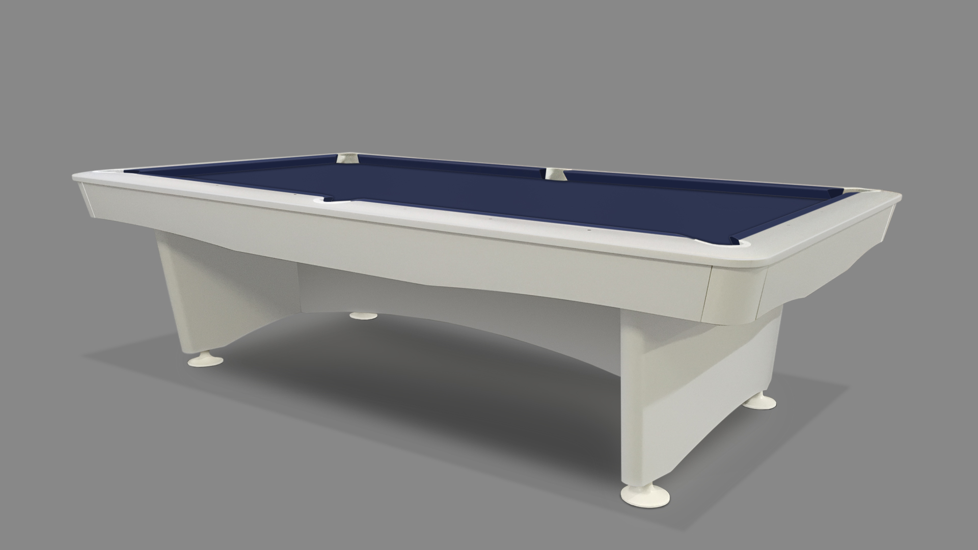 NEW Olympic Pool Table White 5