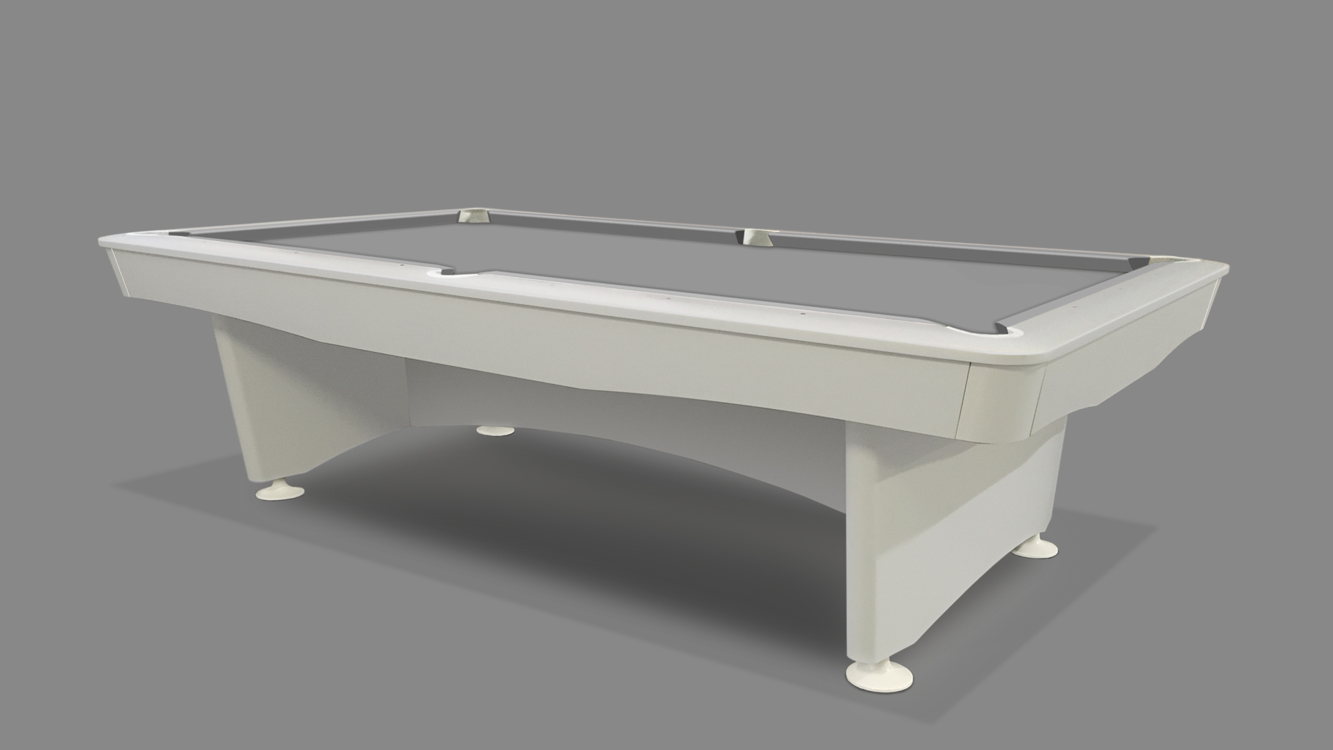 NEW Olympic Pool Table White 1