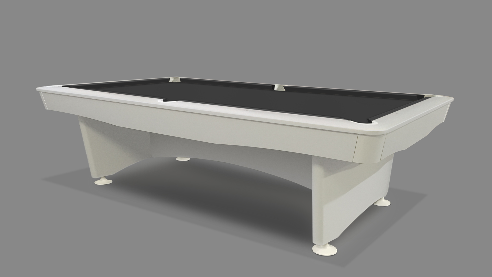 NEW Olympic Pool Table White 2