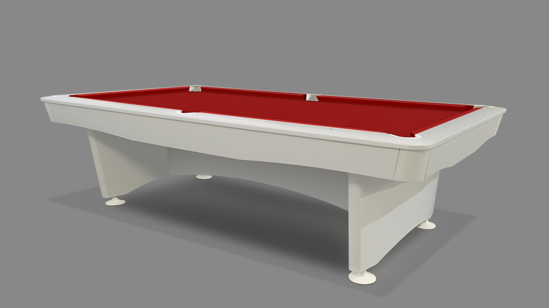 NEW Olympic Pool Table White 3