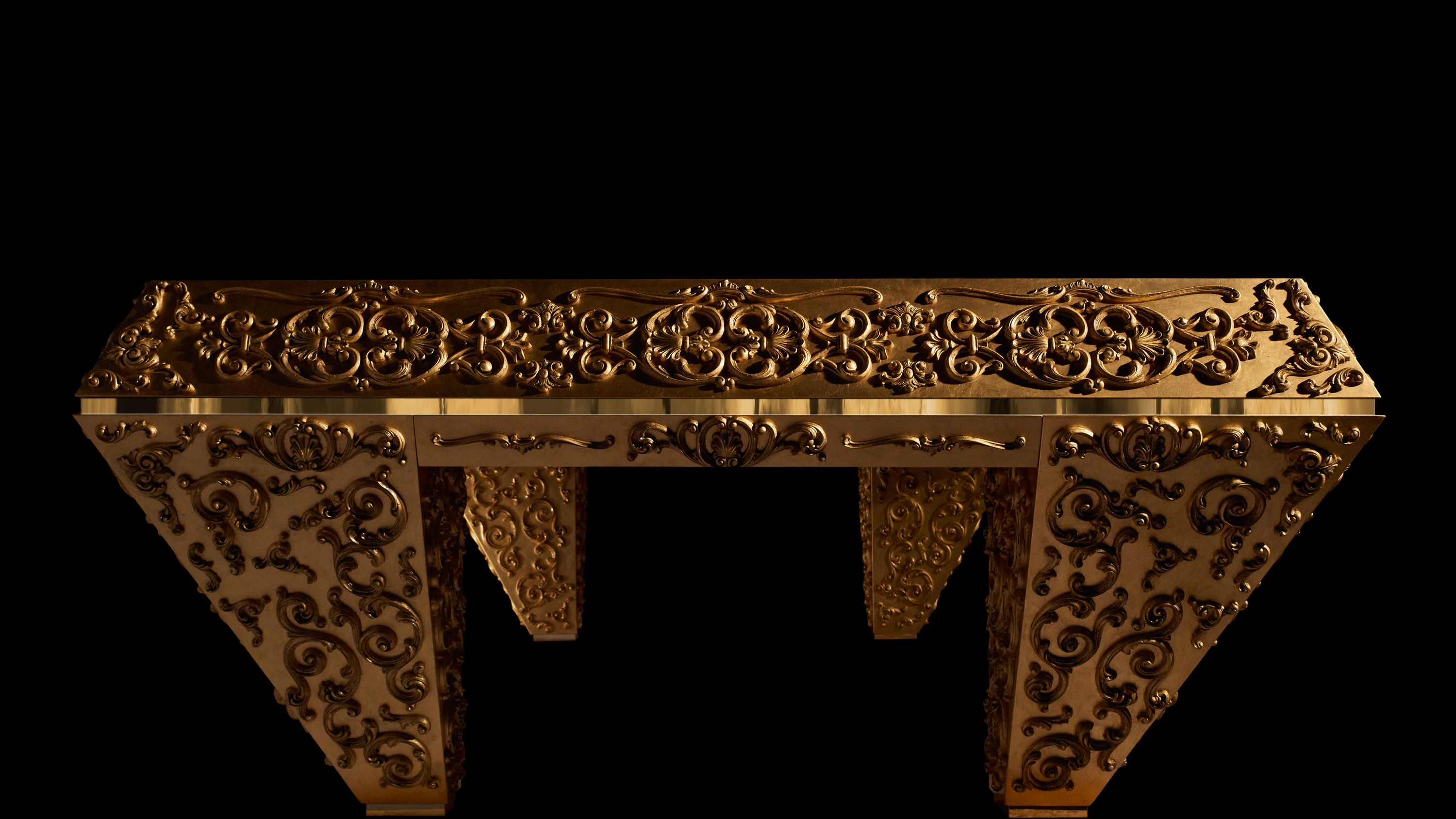 Pashà Gold Pool Table - Showroom Shop 5