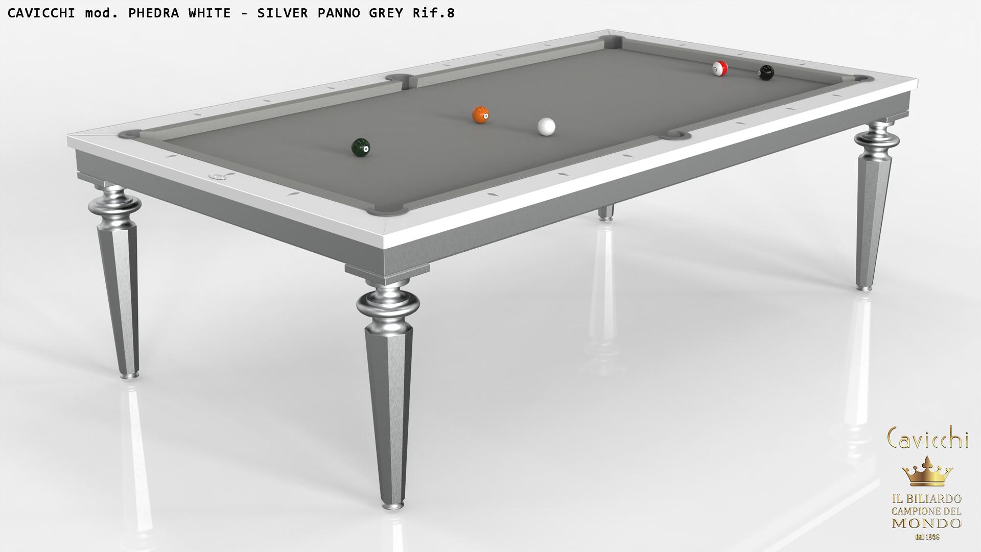 Бильярдный стол Cavicchi PHEDRA WHITE 6