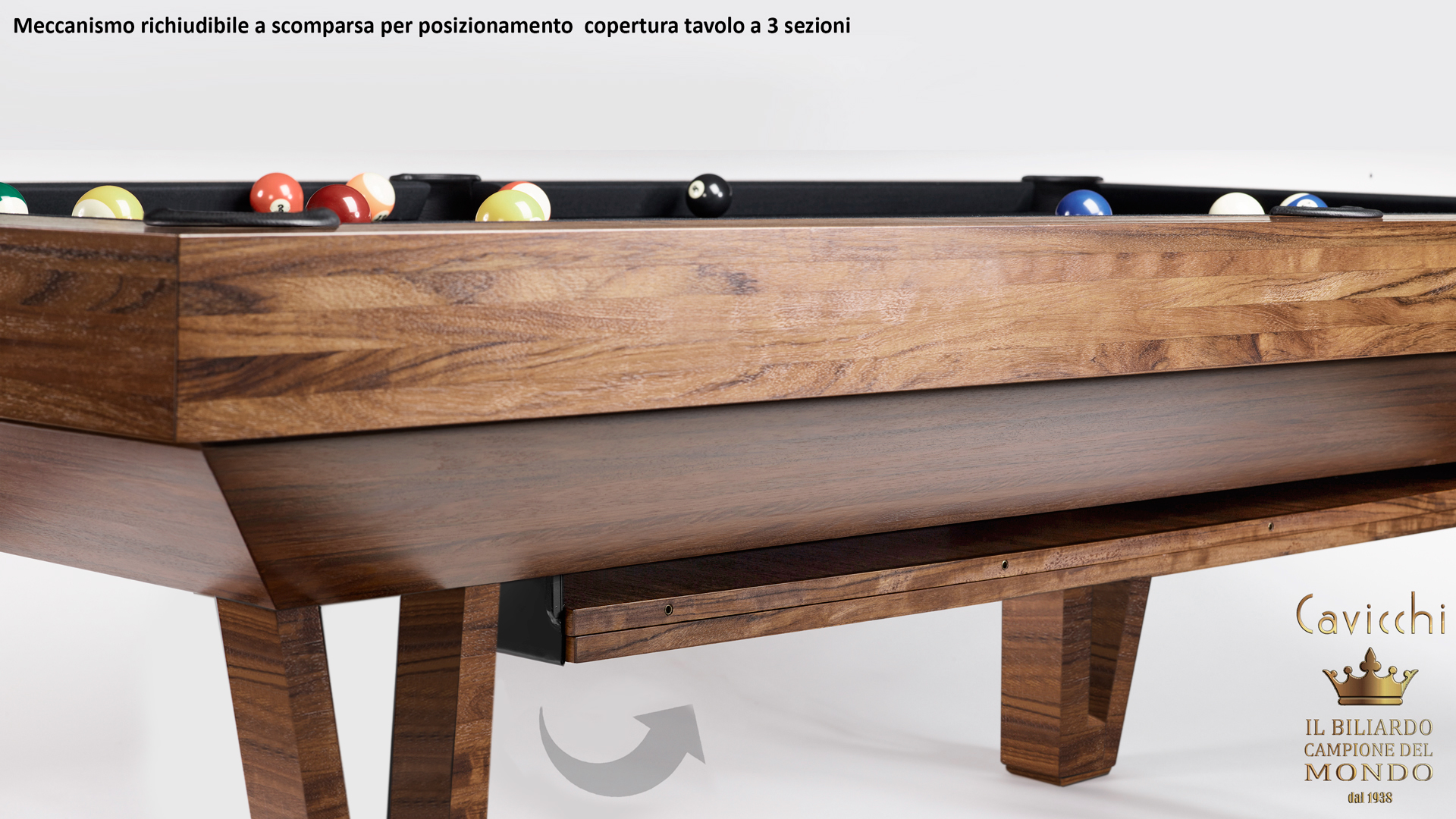 Pool Table Mod. Cayenne Two 9