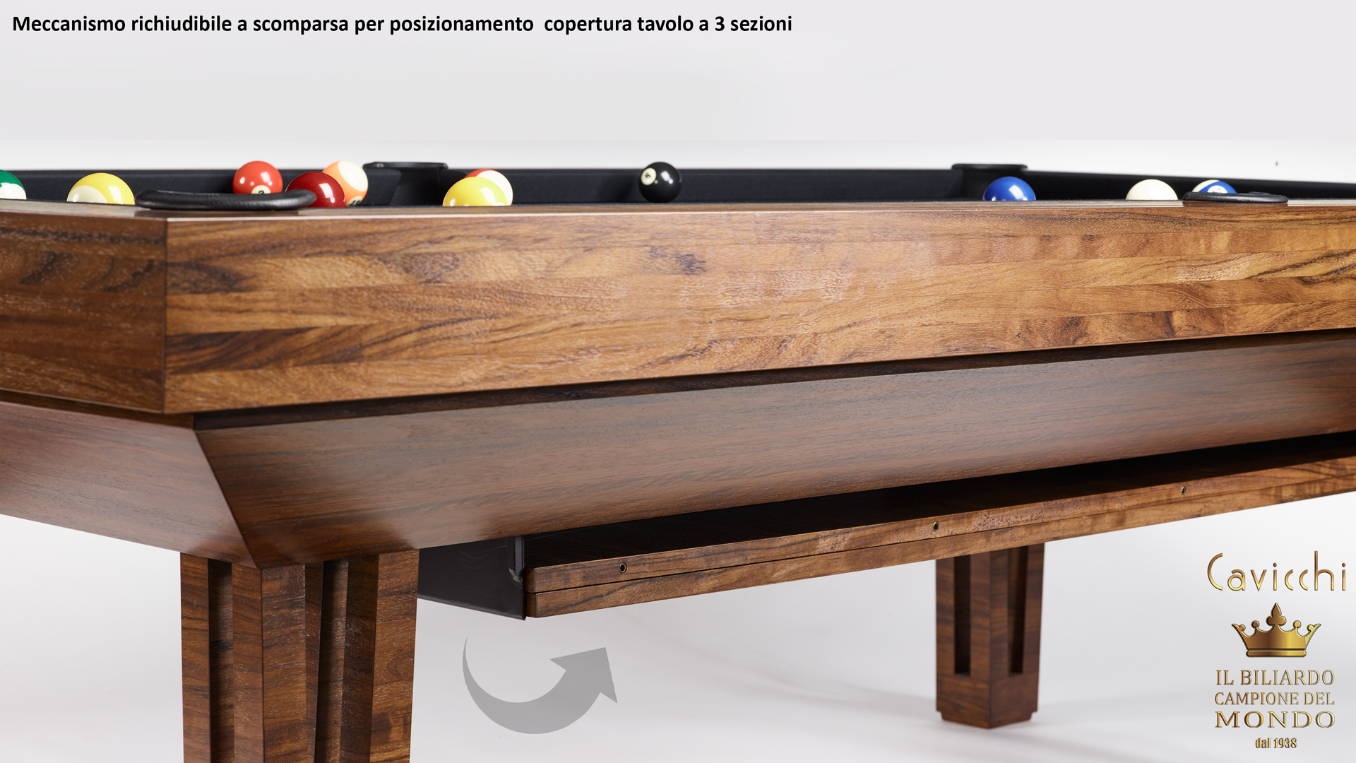 Pool Table mod. Cayenne One 9