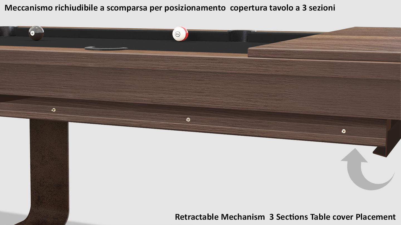 Cavicchi Mistral Corten Pool Table 7