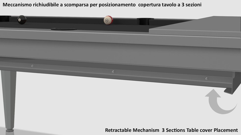 Cavicchi Phedra Grey Pool Table 7