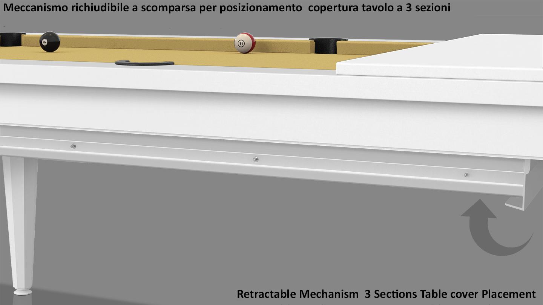 Cavicchi Phedra White Pool Table 9