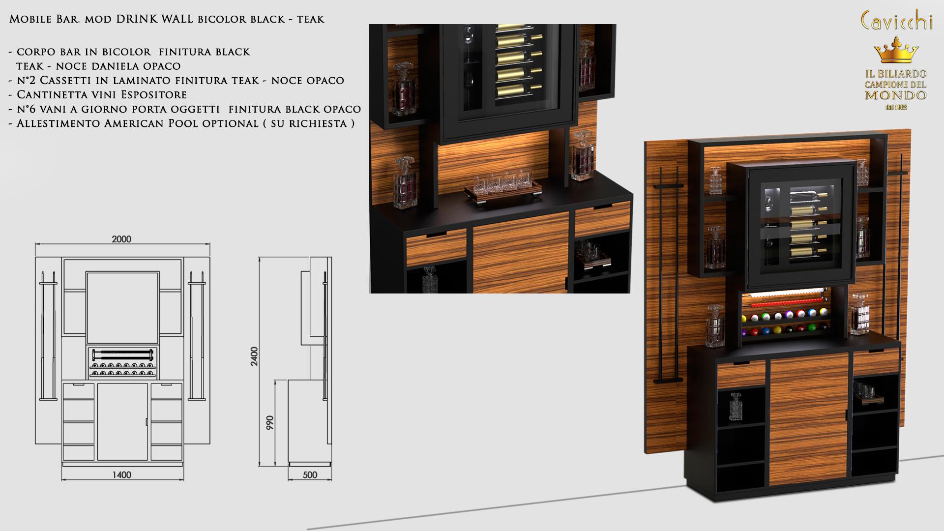 Bar Drink Wall Furniture 3