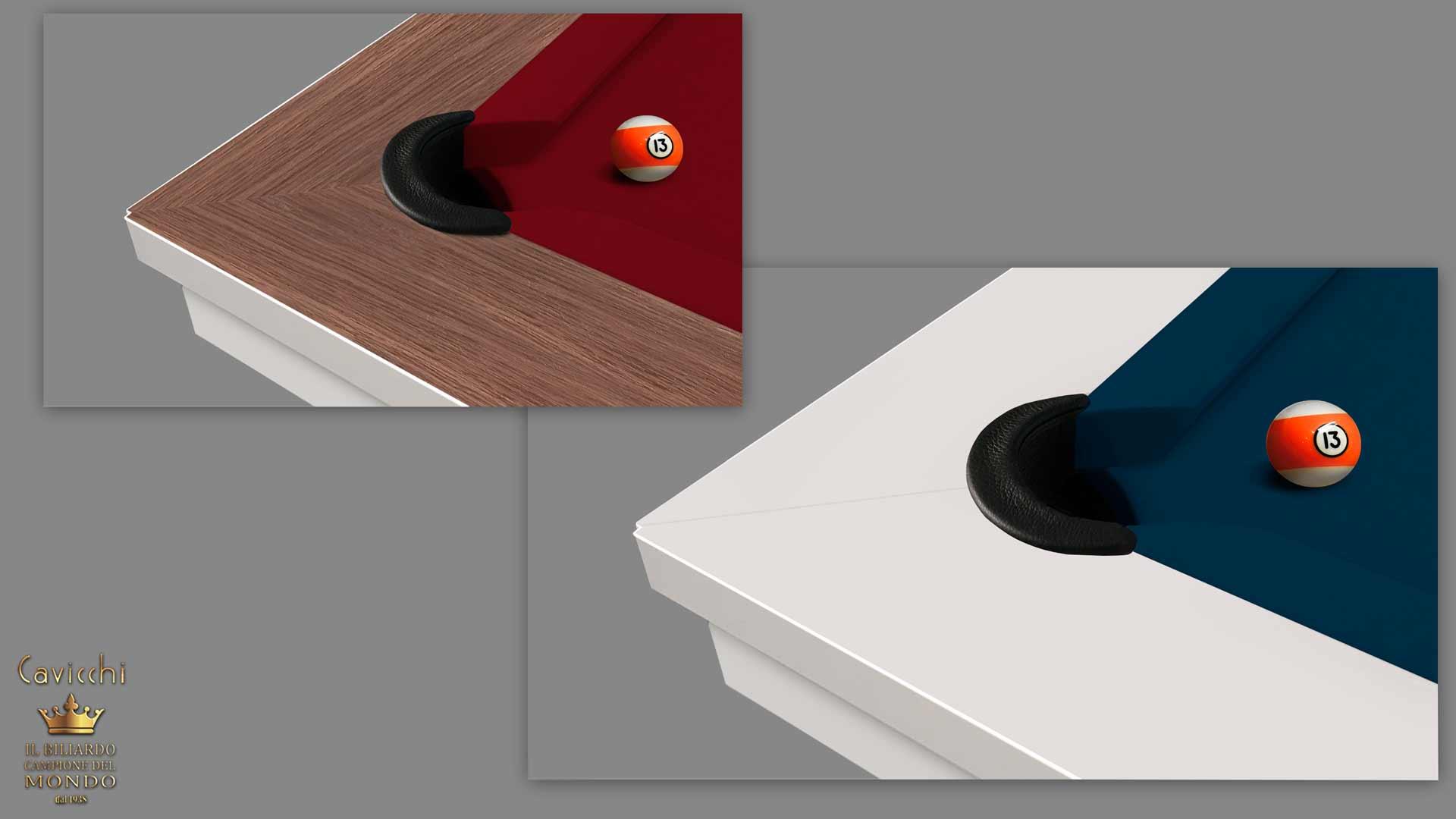billiard table Cavicchi Phedra White  - Showroom Shop 4
