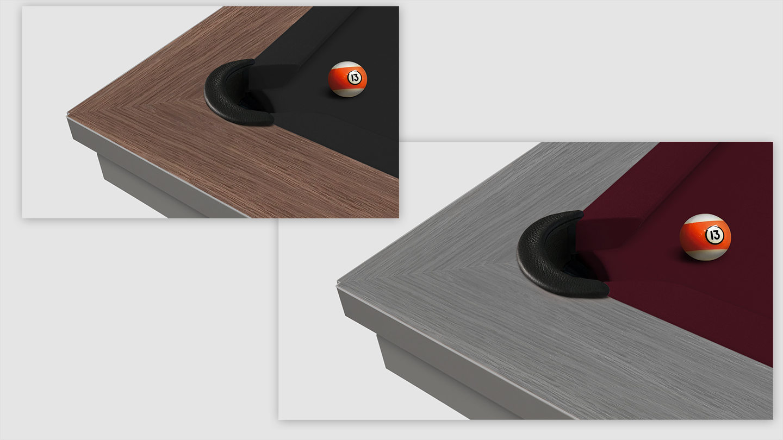 Cavicchi Phedra Grey Pool Table 4