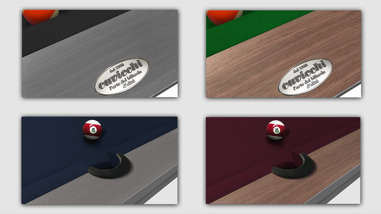 Cavicchi Phedra Grey Pool Table 5