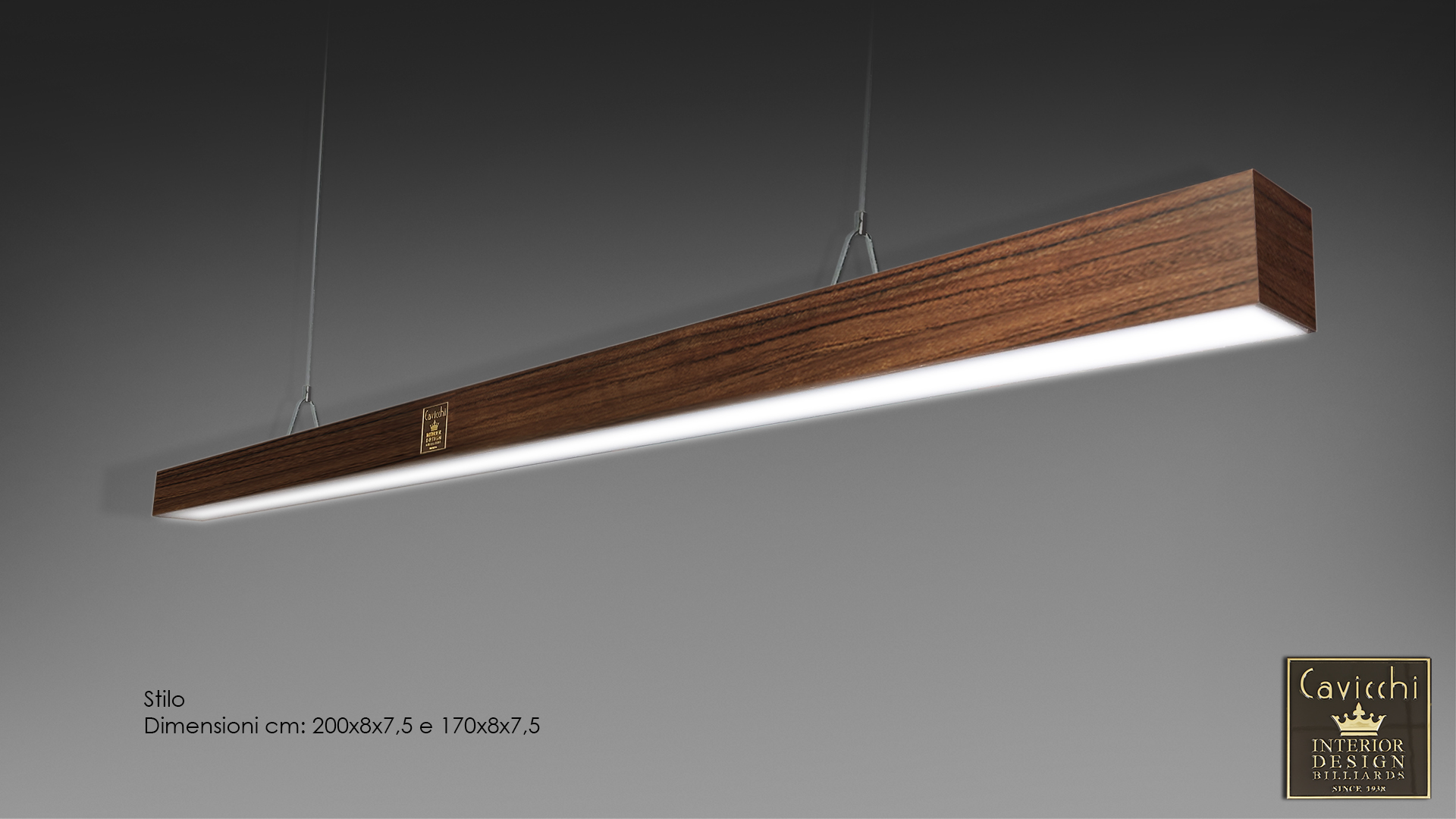 Stilo lamp lacquered and precious woods 1