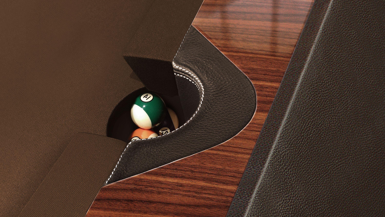 Millennium Leather Billiard Pool Table 6
