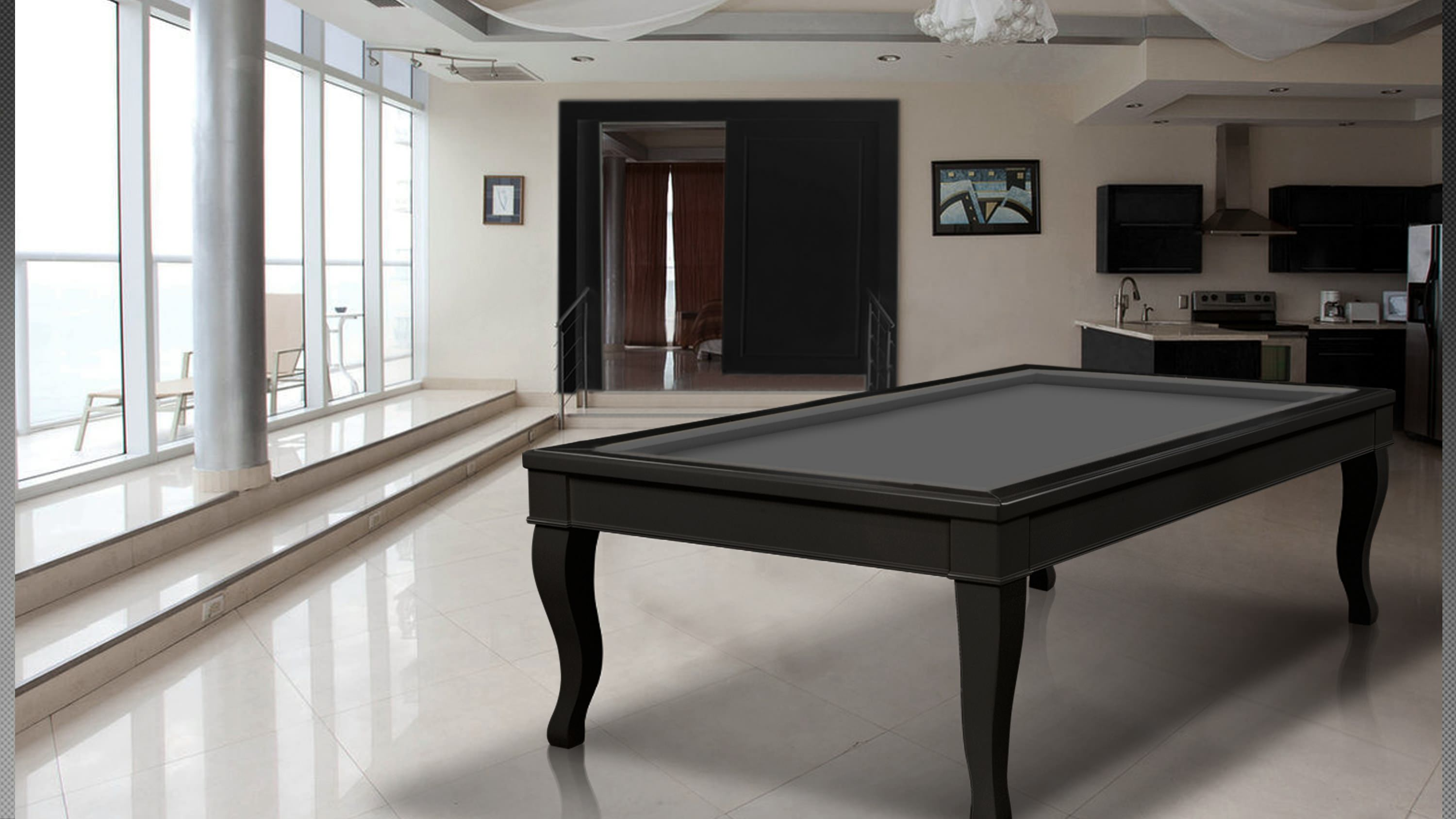 Lacquered Canossa Billiard 5