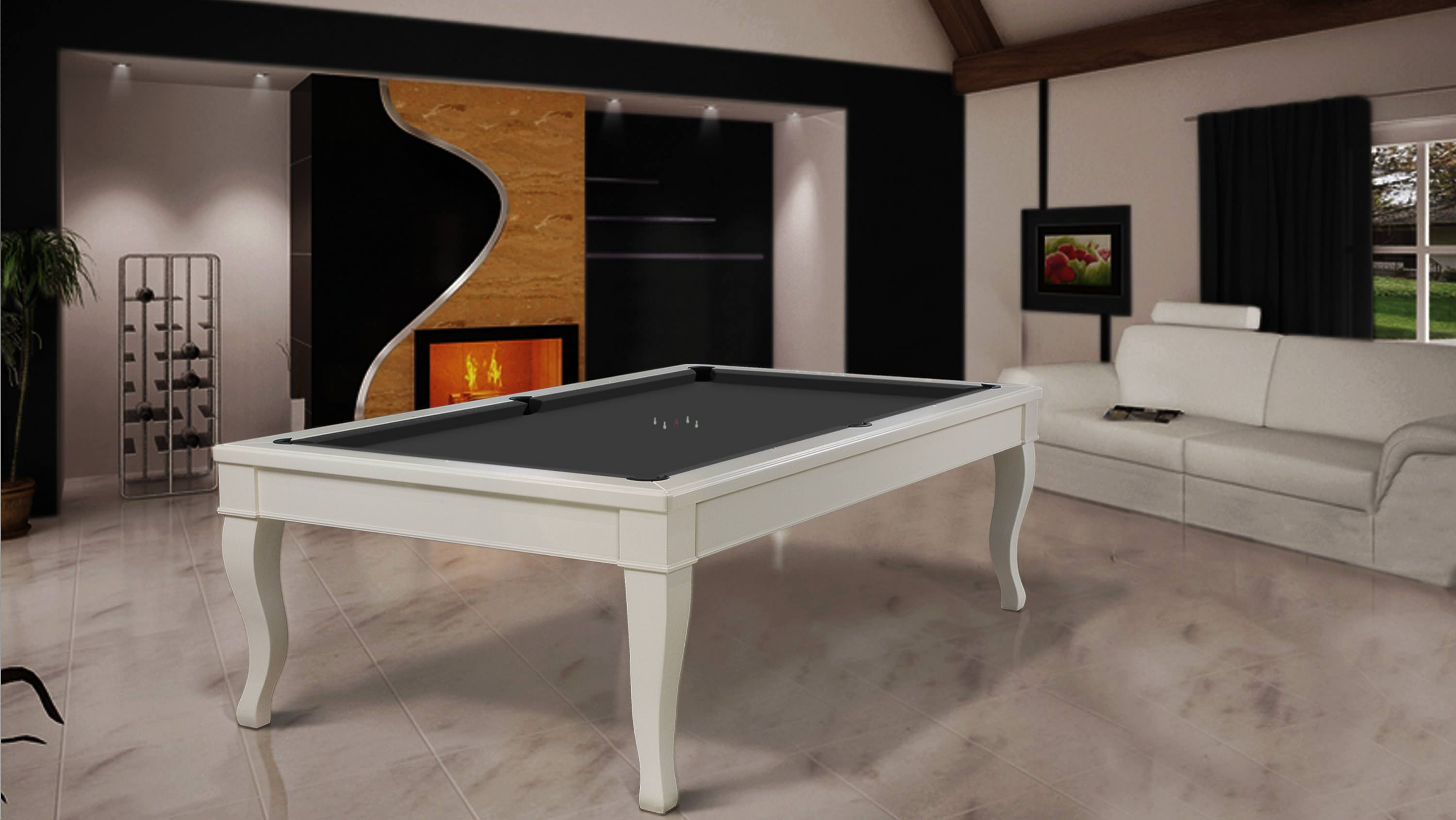 Lacquered Canossa Billiard 2