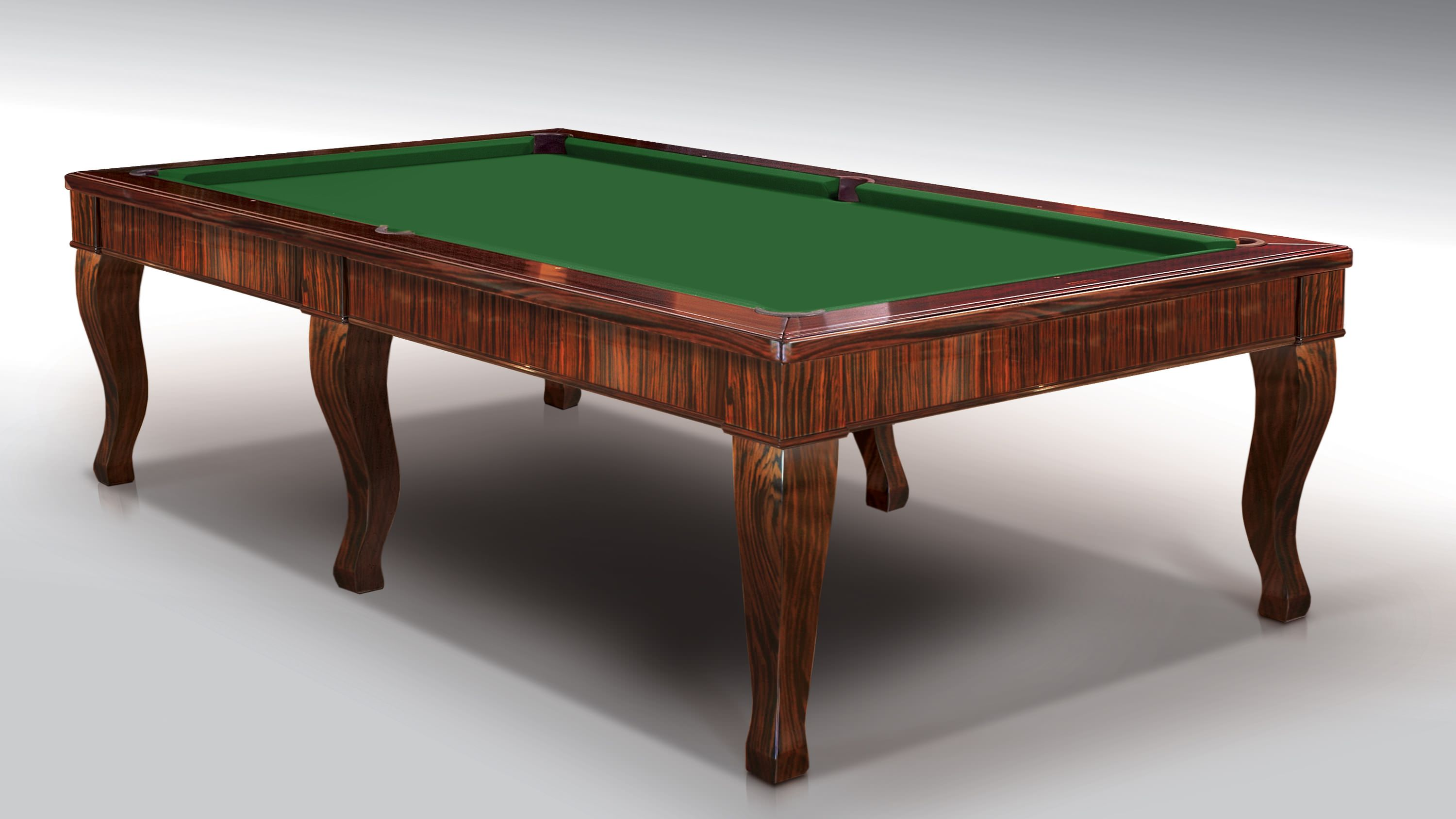Canossa Ebony billiard Pool Table 6 bases 1