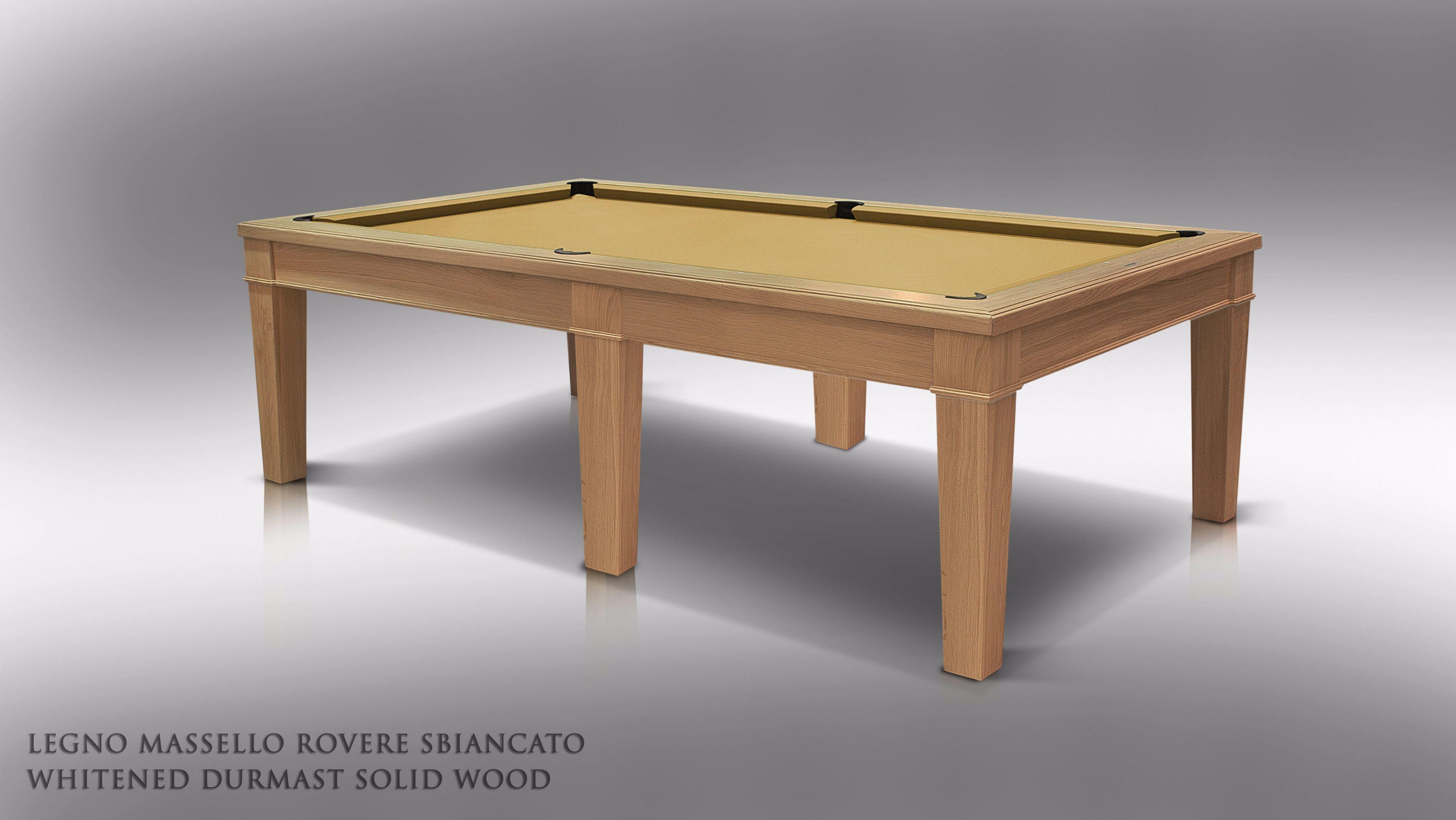 Canossa Style Billiard Pool Table 6 - 8 bases 1