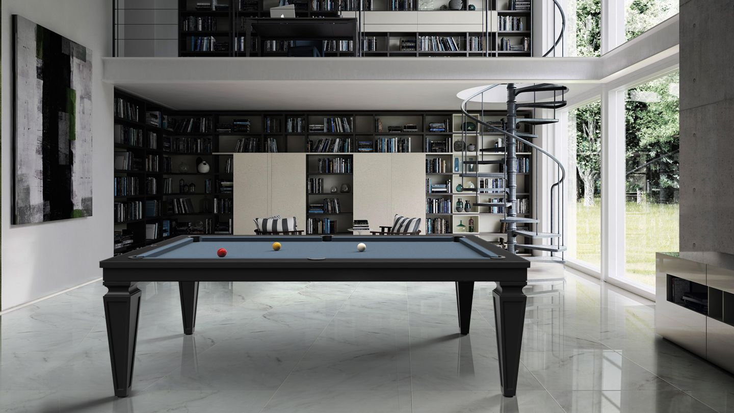 Cavicchi Cheope Black Pool Table 1