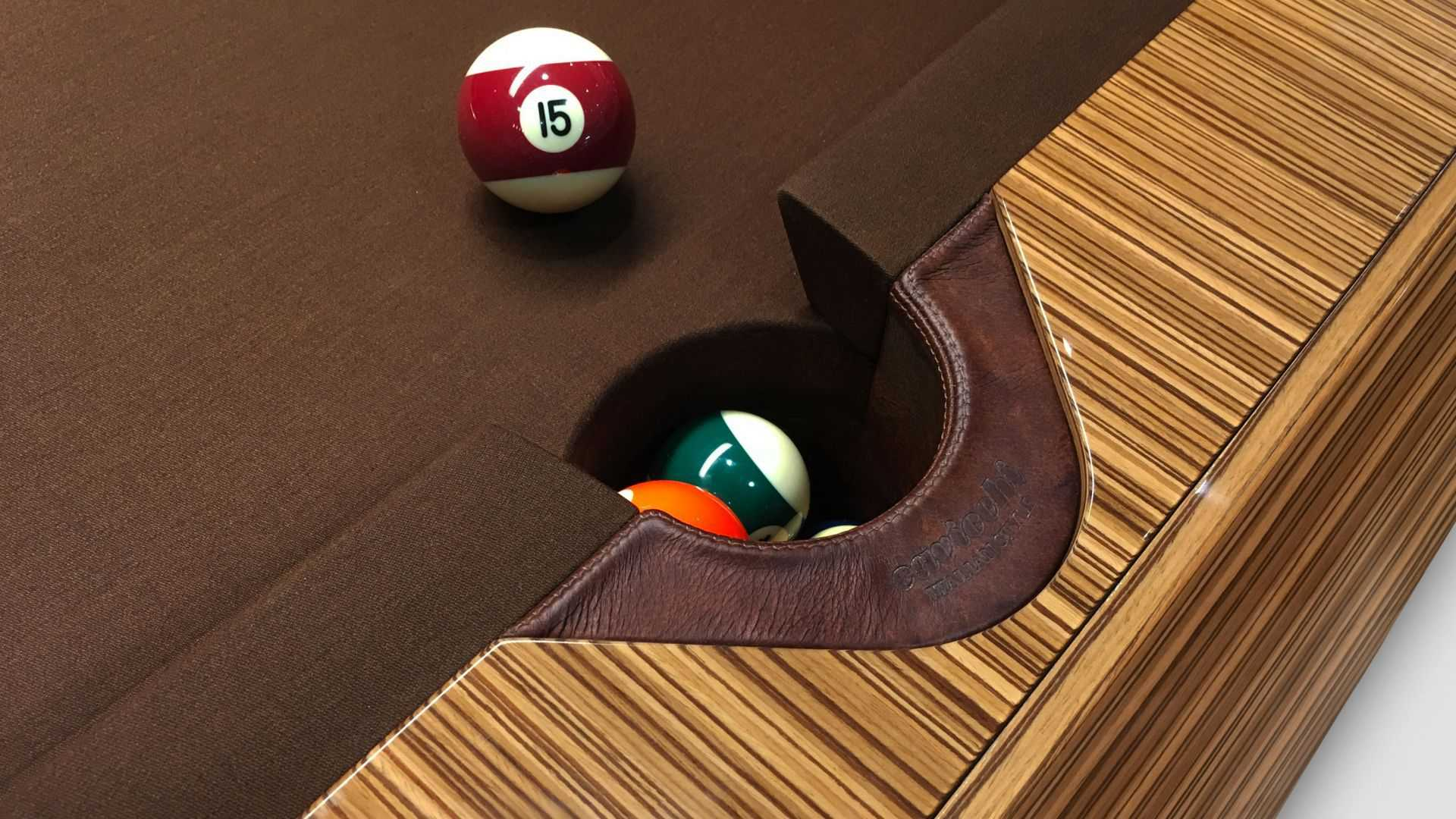 Billiard Millennium Zebrano - Showroom Shop 6