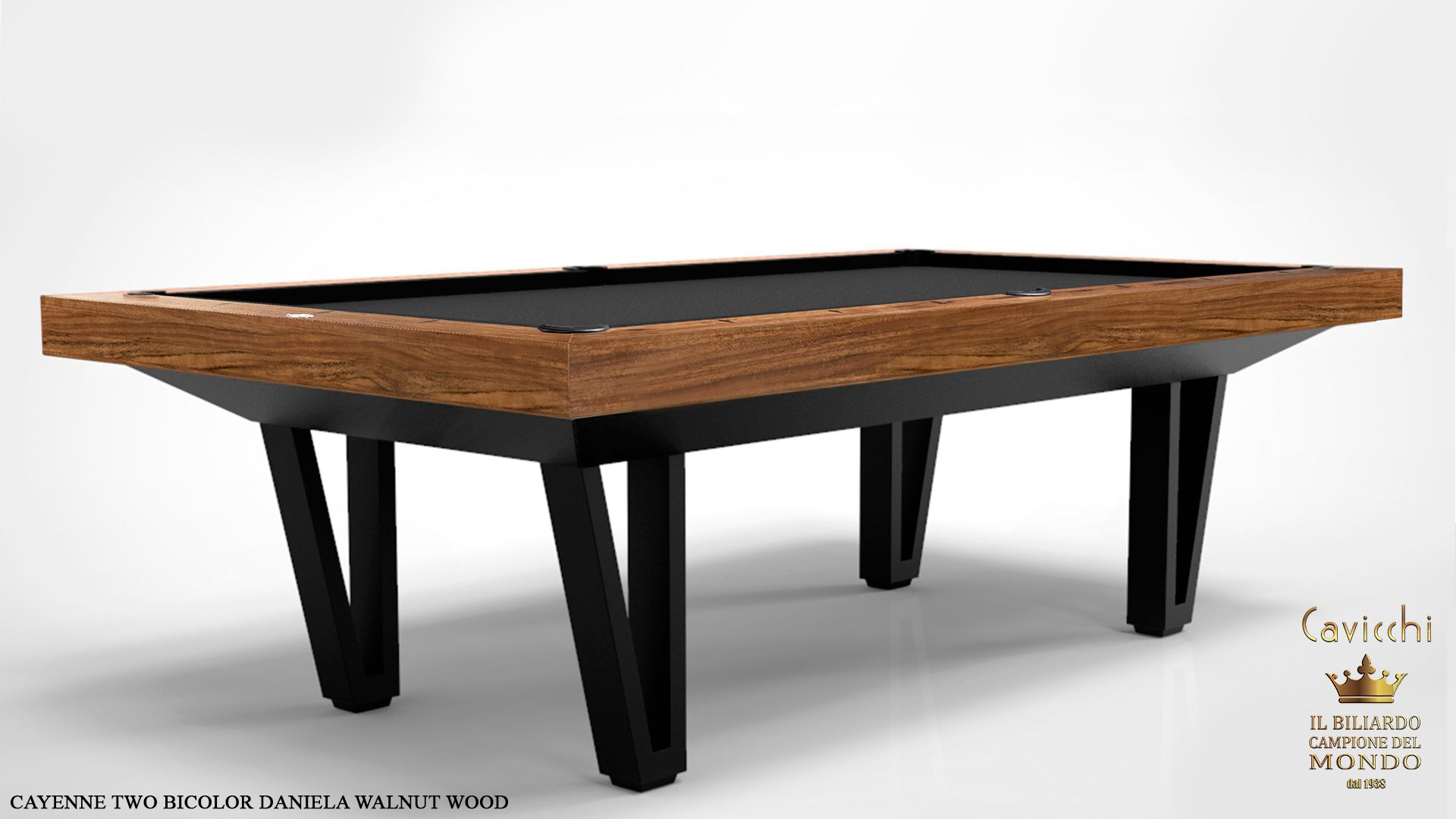 Pool Table Mod. Cayenne Two Bicolor Version 7