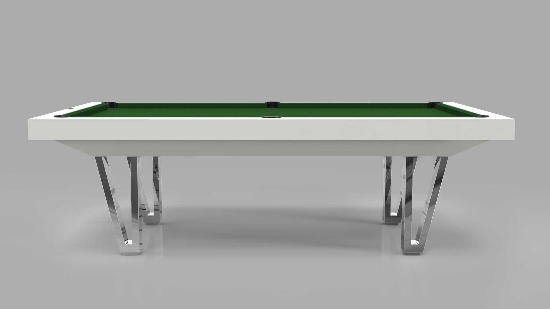 Pool Table mod. Cayenne Two Lacquered metal bases 5