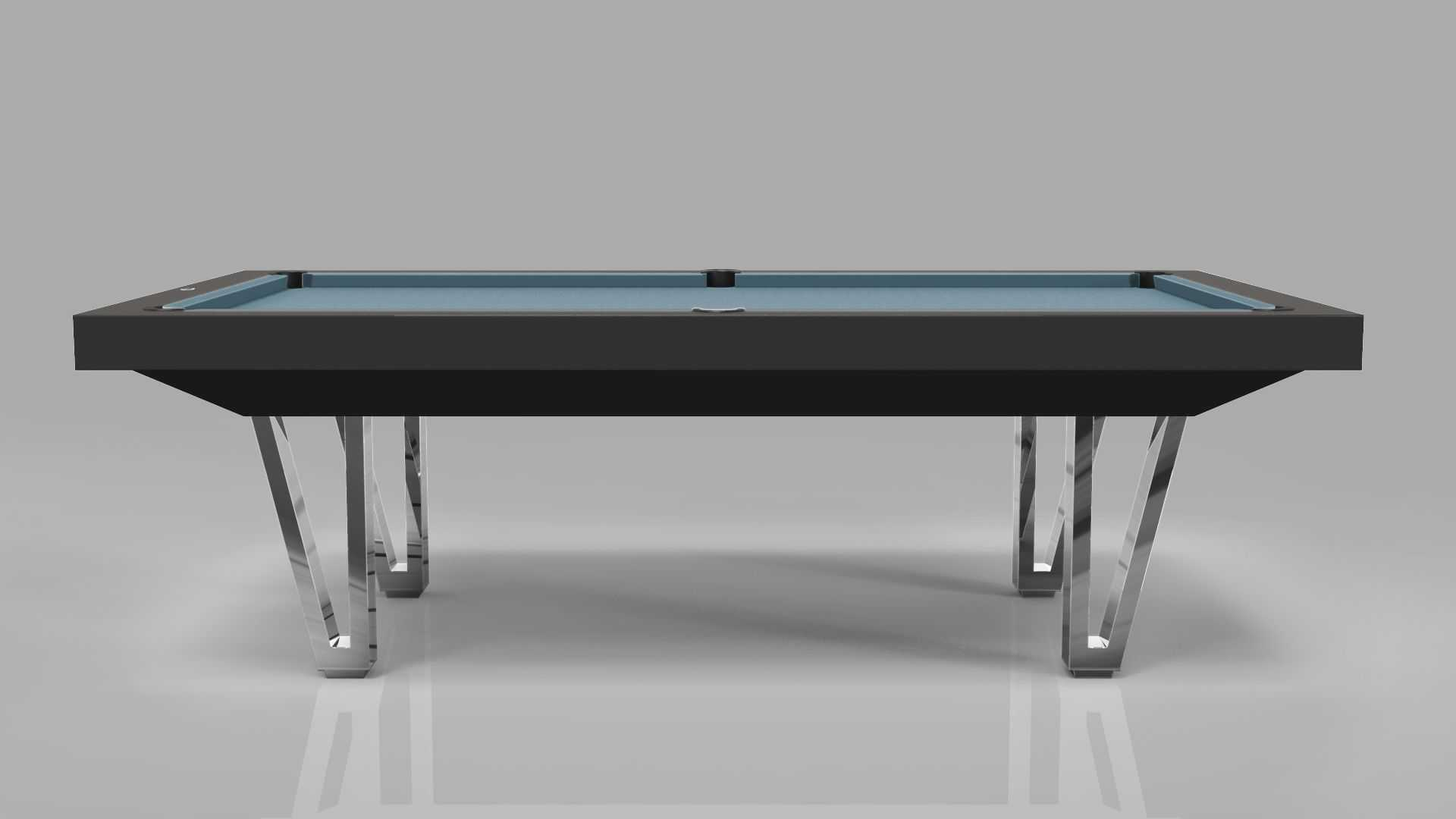 Pool Table mod. Cayenne Two Lacquered metal bases 8
