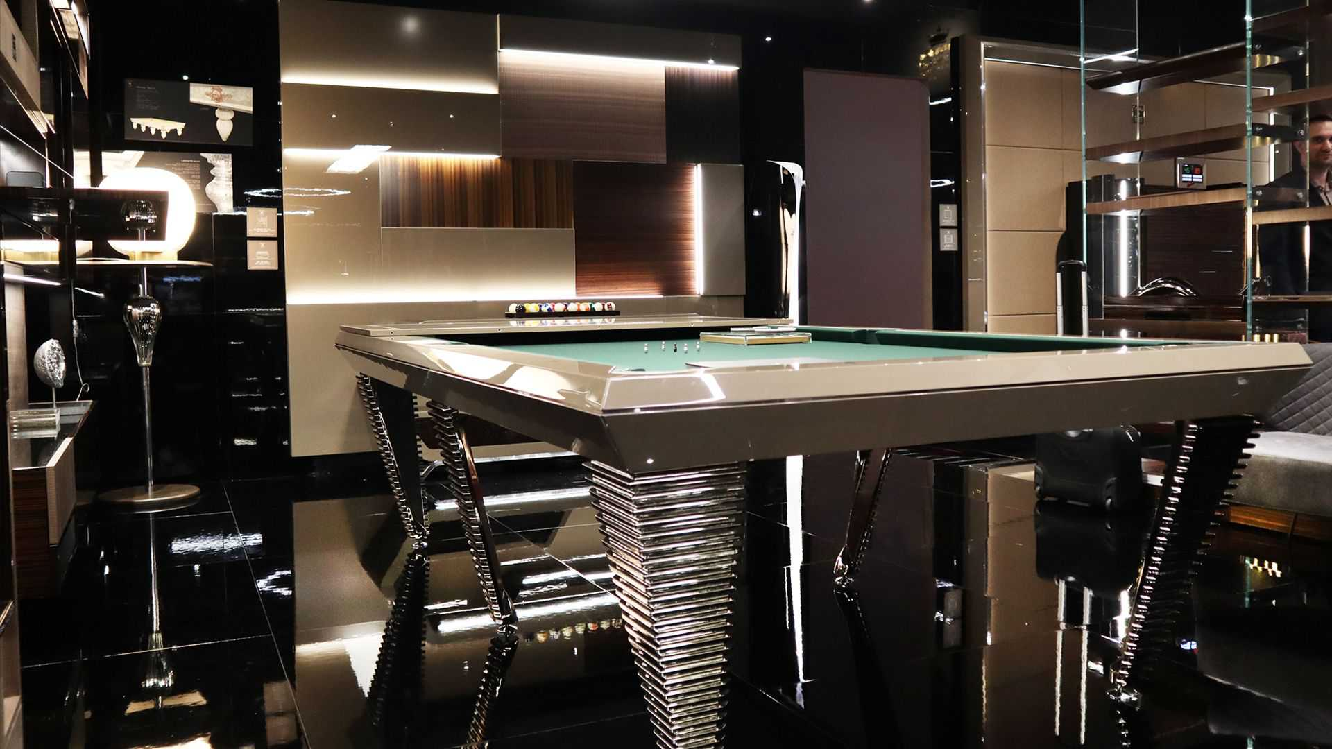 Pyramid Billiard Pool Table 6