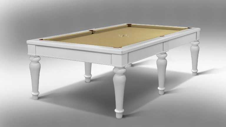 Canossa Epoque Billiard Pool Table 6 bases